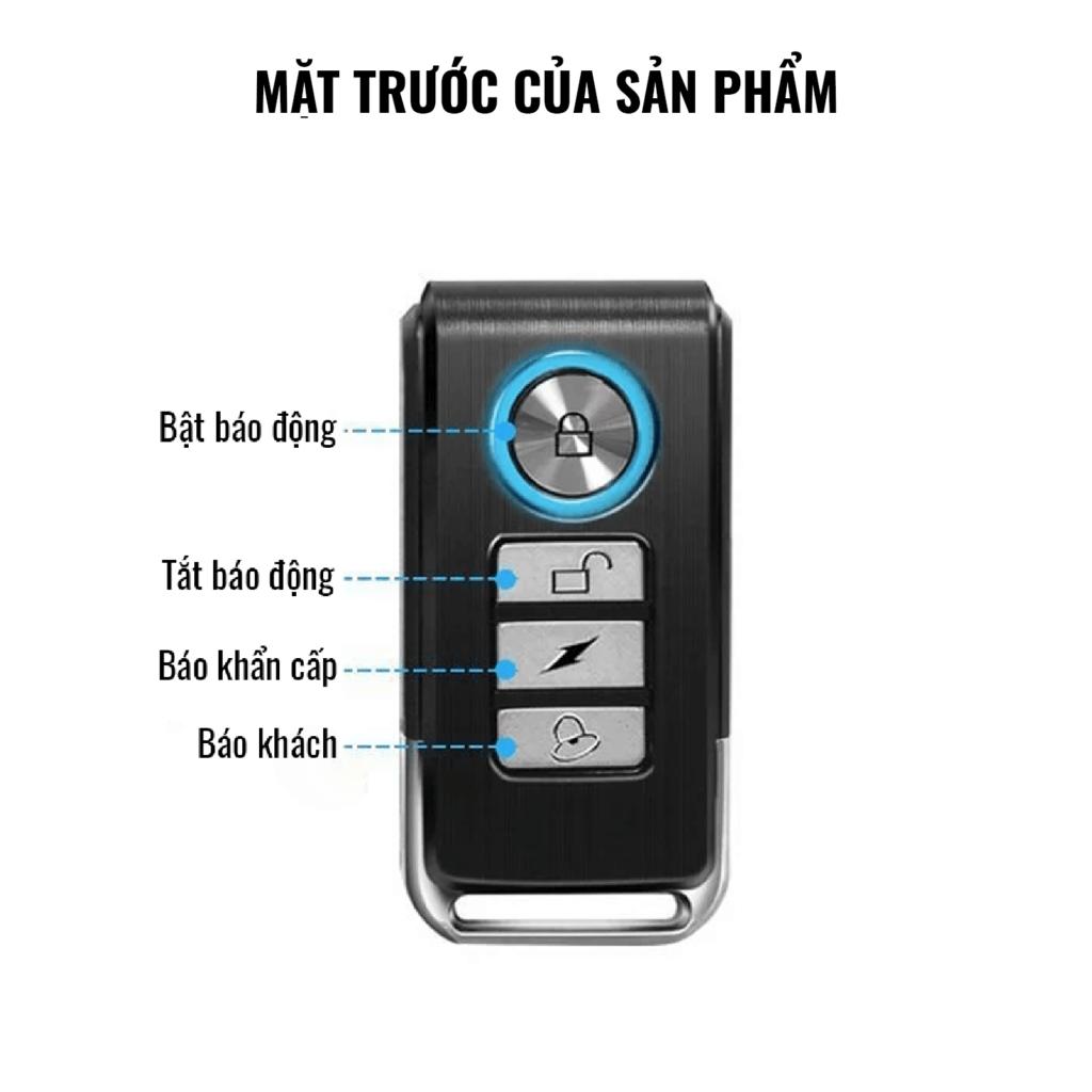 remote cảm biến chống trộm cửa pr-c03 pingron